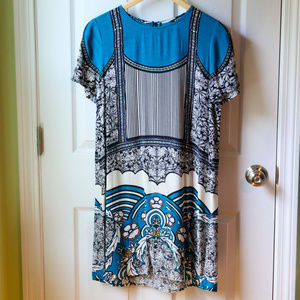 Express Silky Short Sleeve Dress